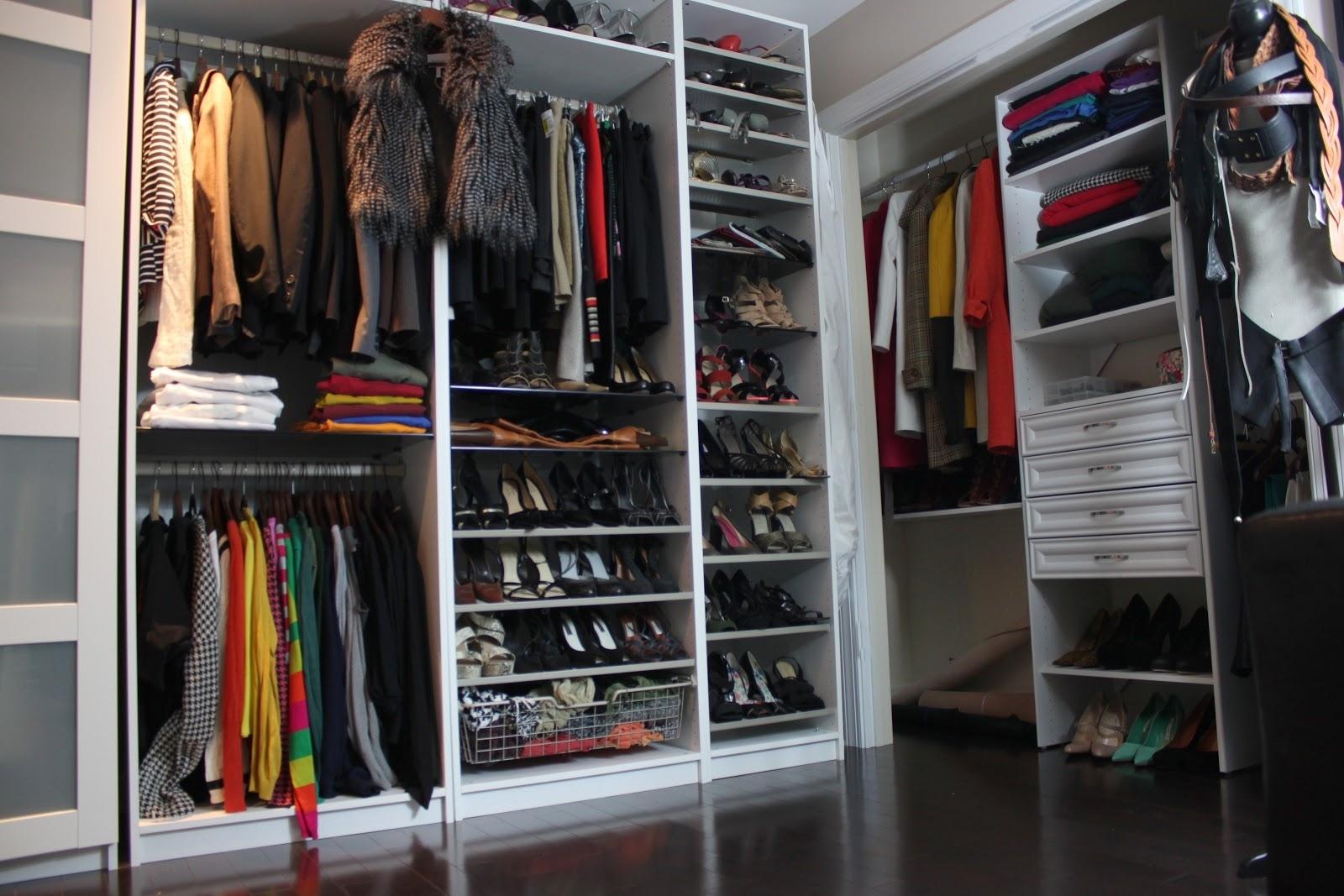 Идеи оформления гардеробной от ИКЕА