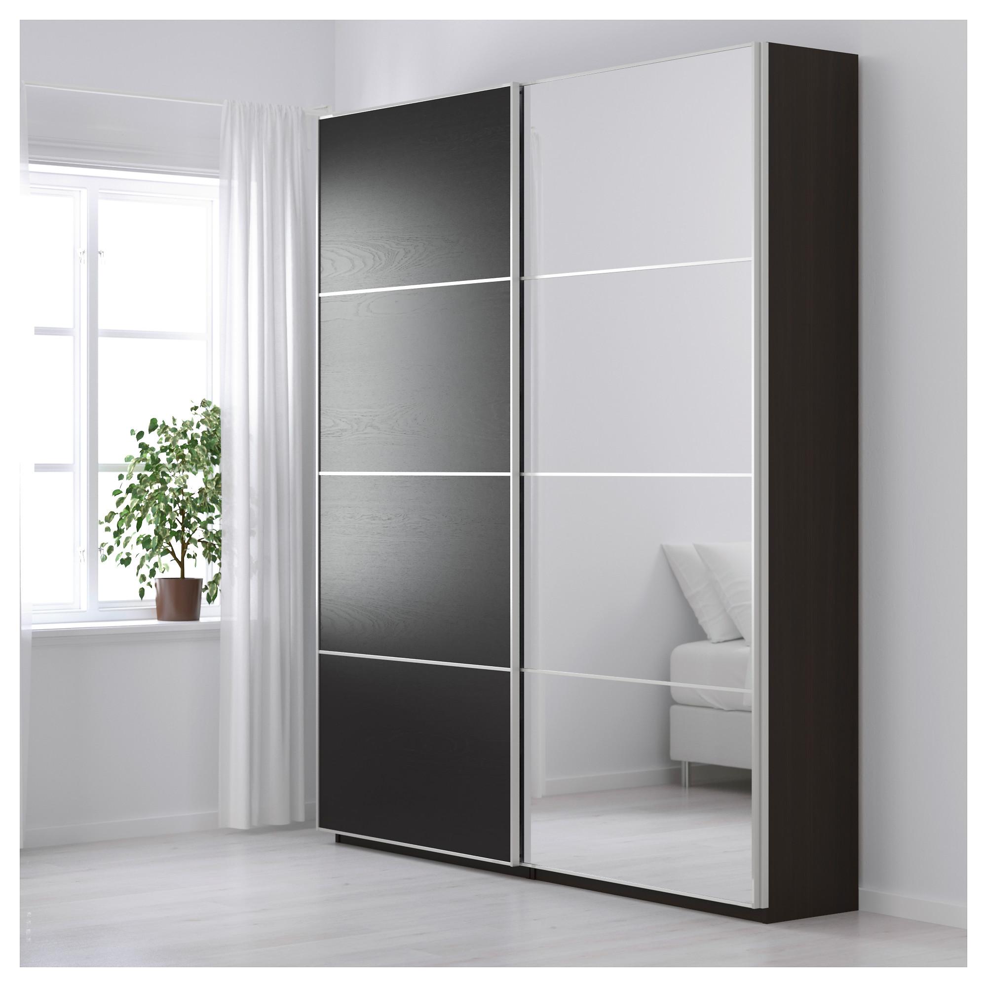 Идеи оформления гардеробной от ИКЕА. Шкафы серии ПАКС