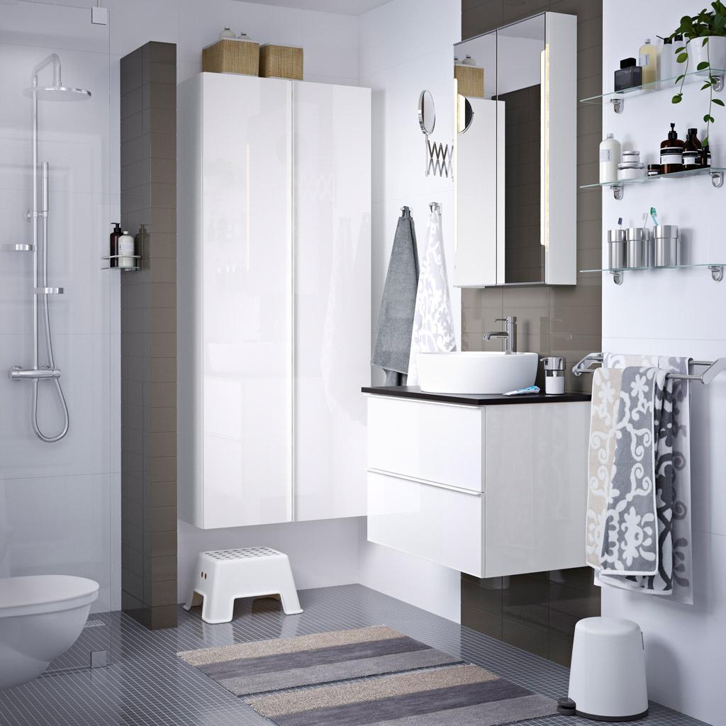 мебель икеа в интерьере ванной комнаты жизнь в стиле икеа