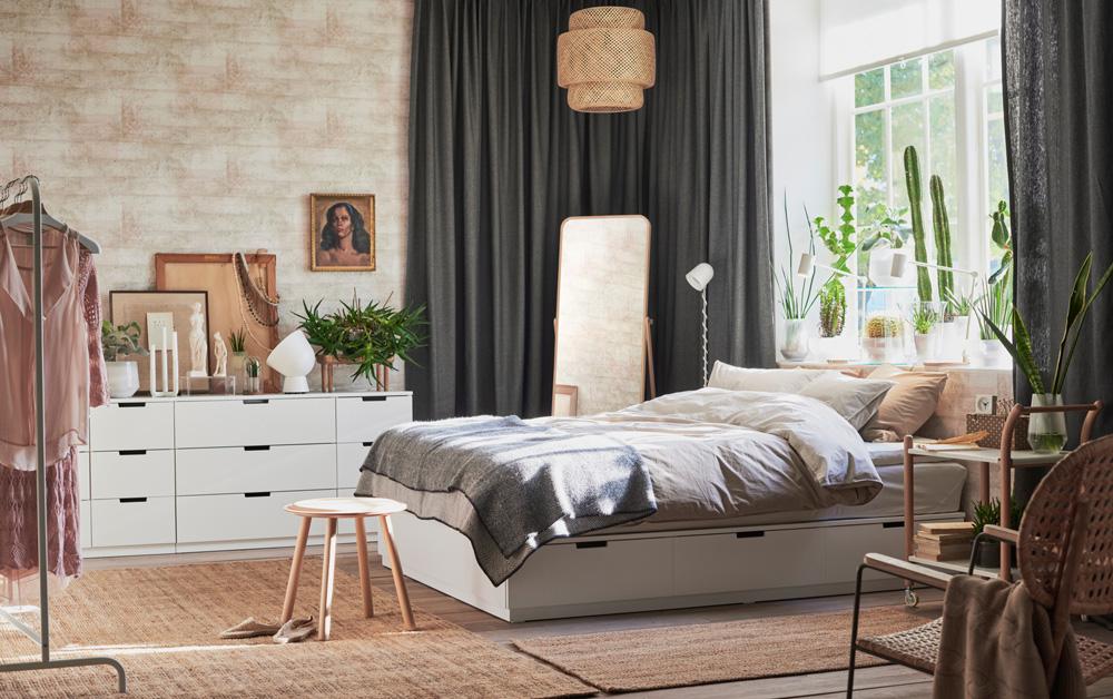 фото 44 лучших спален из икеа жизнь в стиле икеа