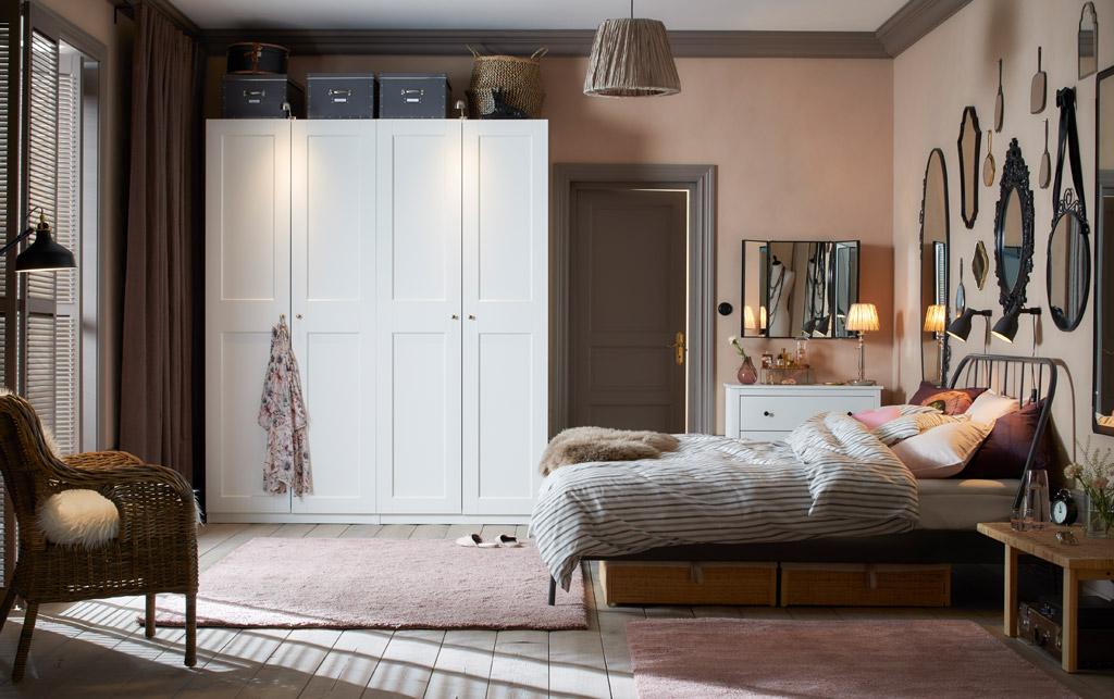 мебель и аксессуары для спальни икеа жизнь в стиле икеа