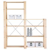 2 секции полок ГОРМ артикуль № 898.746.30 в наличии. Онлайн магазин IKEA РБ. Быстрая доставка и установка.