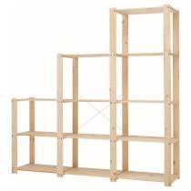 3 секции полок ГОРМ артикуль № 198.670.15 в наличии. Online магазин IKEA Республика Беларусь. Быстрая доставка и соборка.