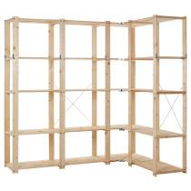 4 секции, угловой ГОРМ артикуль № 598.670.23 в наличии. Online магазин IKEA РБ. Быстрая доставка и соборка.