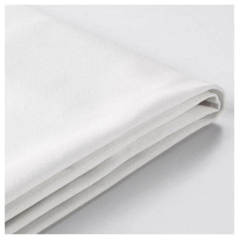 Чехол на 2-местный диван-кровать ЛИКСЕЛЕ белый артикуль № 501.195.44 в наличии. Онлайн сайт ИКЕА РБ. Быстрая доставка и соборка.