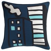 Чехол на подушку ГИТТЕ разноцветный артикуль № 102.982.98 в наличии. Онлайн магазин IKEA Беларусь. Быстрая доставка и установка.