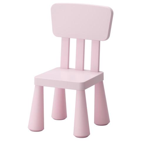 Детский стул МАММУТ светло-розовый артикуль № 502.675.58 в наличии. Онлайн магазин ИКЕА Беларусь. Недорогая доставка и установка.