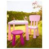 Детский стул МАММУТ светло-розовый артикуль № 502.675.58 в наличии. Интернет сайт ИКЕА Минск. Быстрая доставка и соборка.
