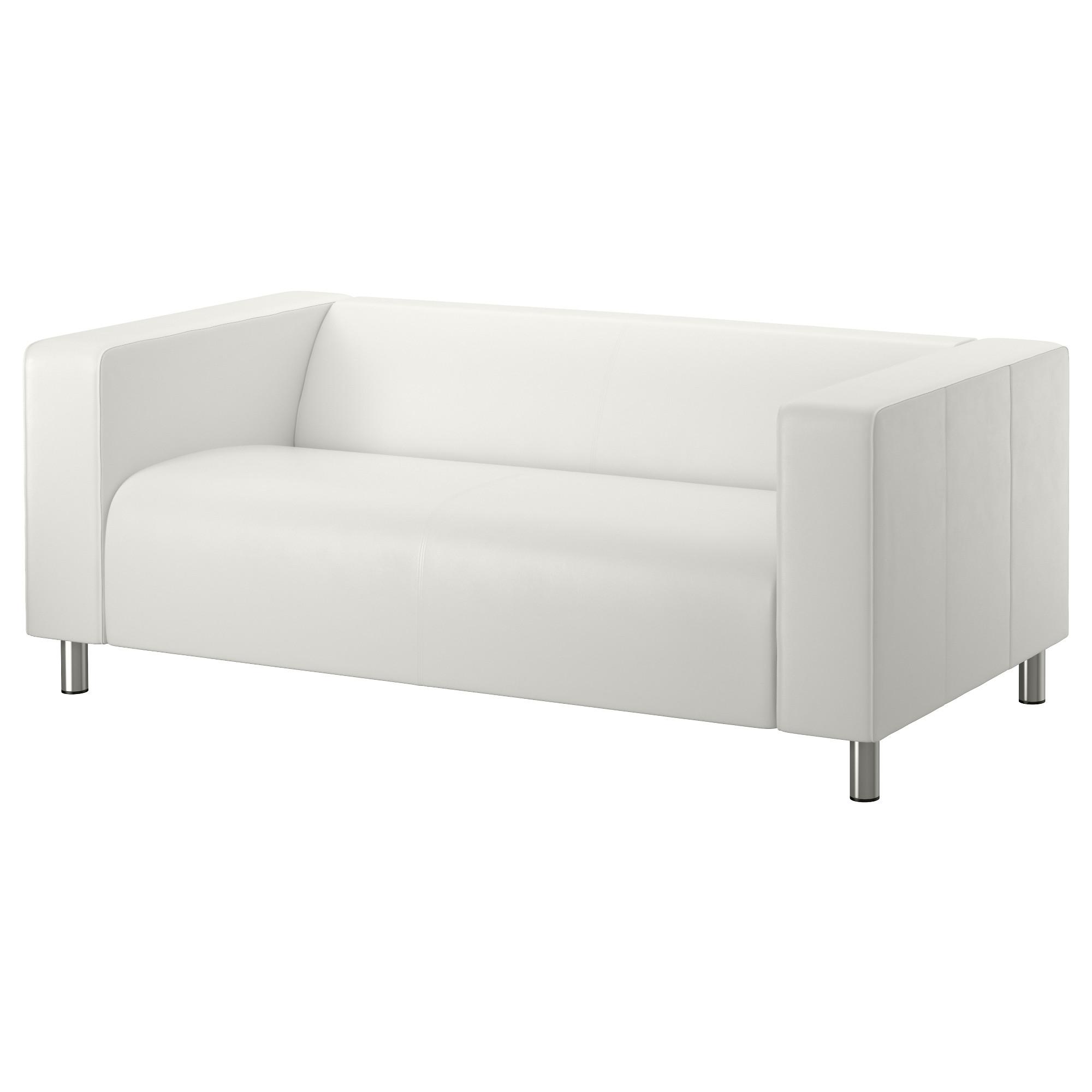 купить диван 2 местный клиппан кимстад белый в Ikea минск