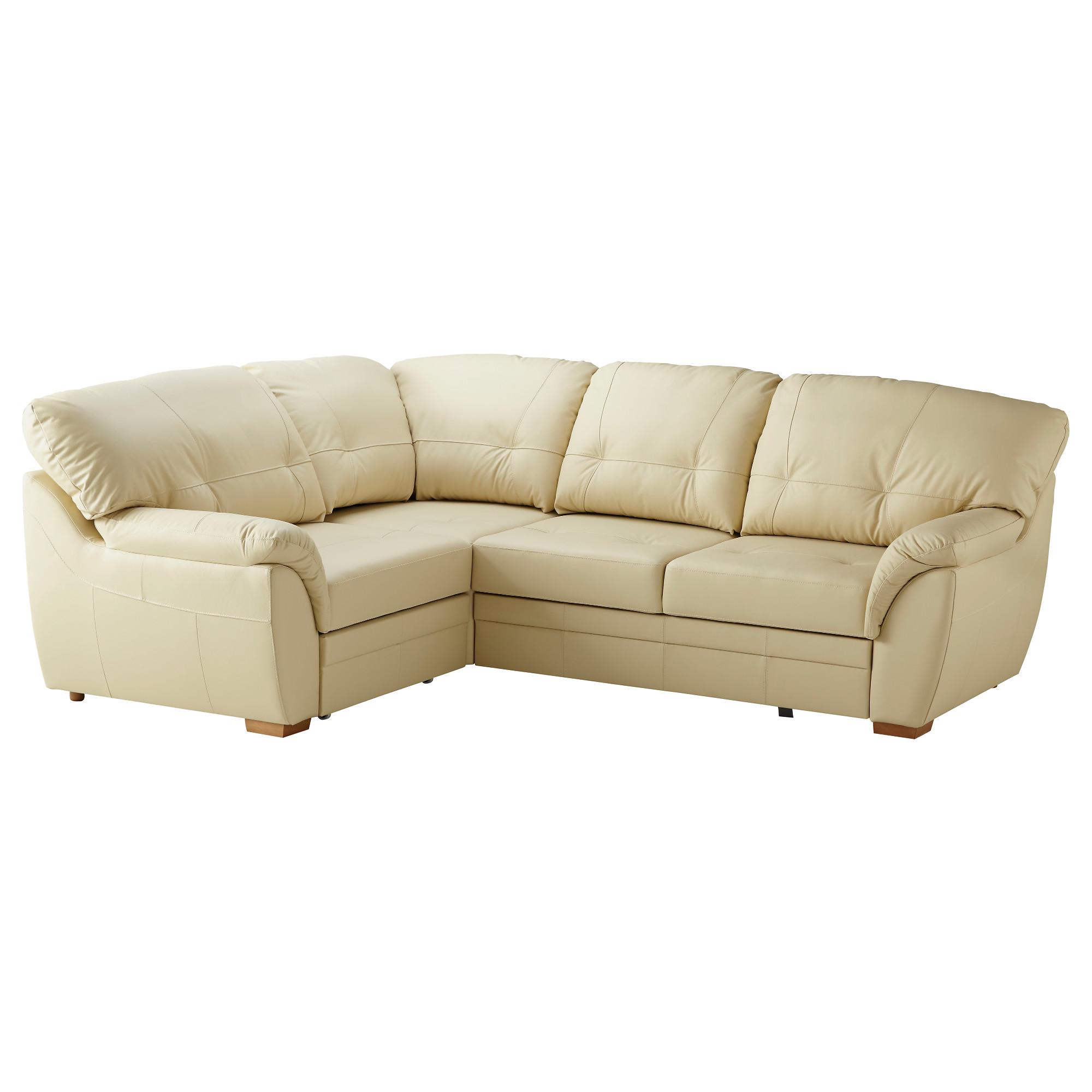 купить диван кровать угловой бьёрбу левый бежевый в икеа минск