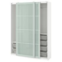 Гардероб ПАКС белый артикуль № 090.295.27 в наличии. Онлайн каталог IKEA РБ. Недорогая доставка и установка.