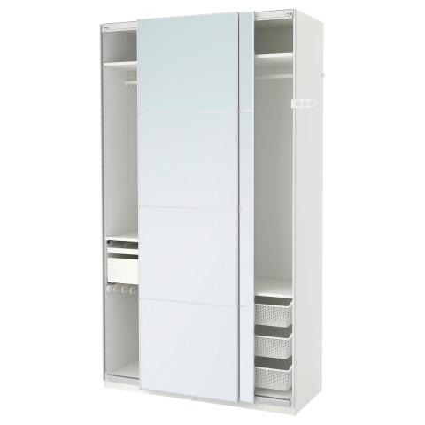 Гардероб ПАКС белый артикуль № 091.273.87 в наличии. Online сайт IKEA Минск. Быстрая доставка и монтаж.