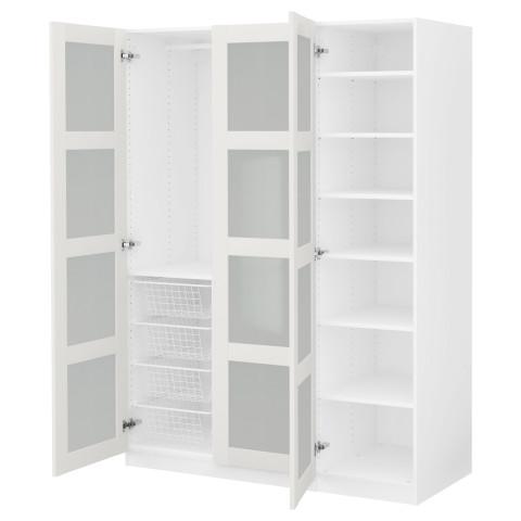 Гардероб ПАКС белый артикуль № 191.288.19 в наличии. Онлайн каталог IKEA РБ. Быстрая доставка и монтаж.