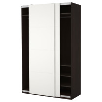 Гардероб ПАКС белый артикуль № 290.294.56 в наличии. Онлайн каталог IKEA Минск. Быстрая доставка и монтаж.