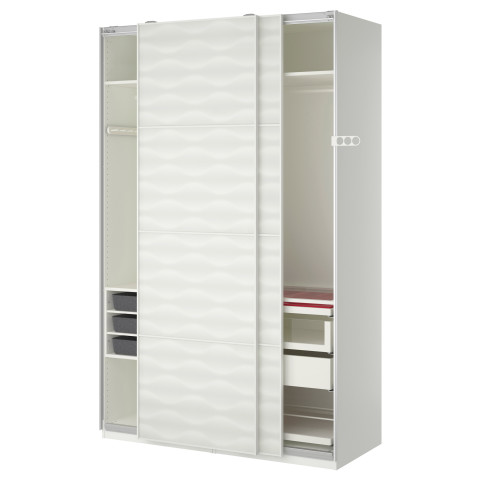 Гардероб ПАКС белый артикуль № 290.295.07 в наличии. Онлайн каталог IKEA РБ. Быстрая доставка и соборка.