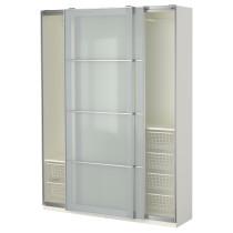 Гардероб ПАКС белый артикуль № 290.295.26 в наличии. Интернет каталог IKEA Минск. Быстрая доставка и установка.