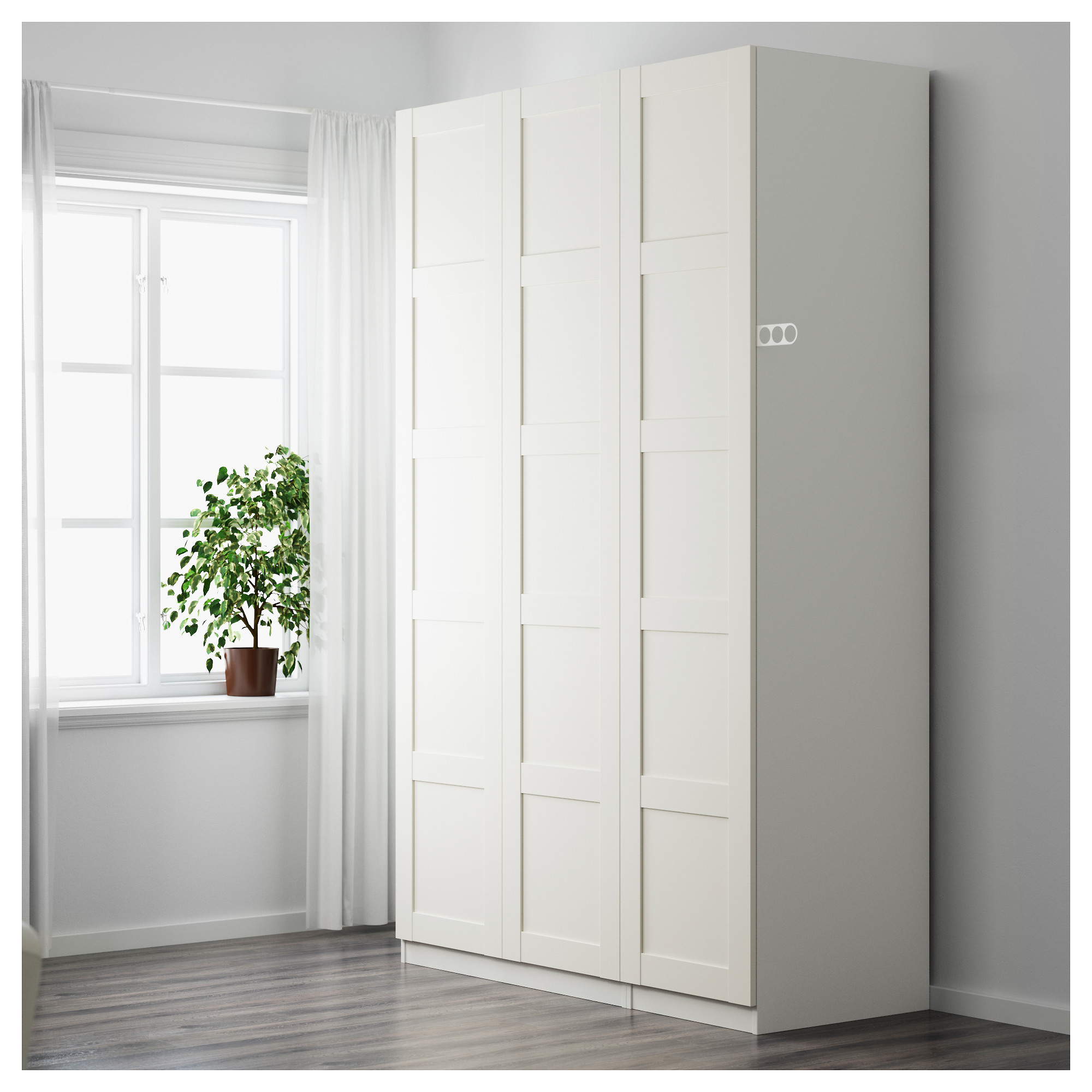 Купить гардероб пакс, белый, бергсбу белый в икеа (минск). ц.