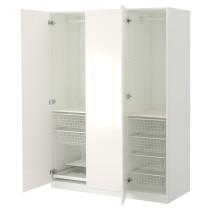 Гардероб ПАКС белый артикуль № 390.293.52 в наличии. Интернет магазин IKEA Беларусь. Недорогая доставка и монтаж.