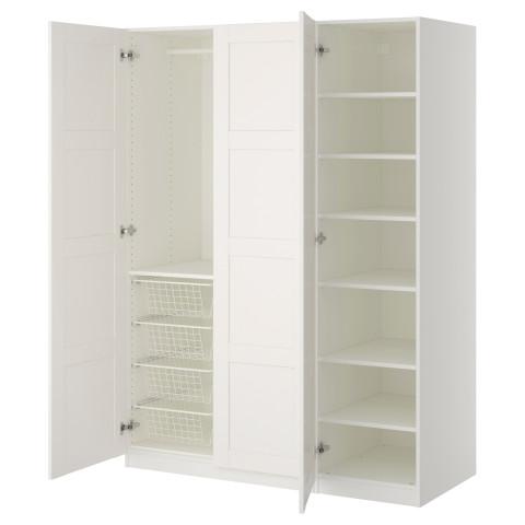 Гардероб ПАКС белый артикуль № 390.293.66 в наличии. Интернет каталог IKEA РБ. Быстрая доставка и соборка.