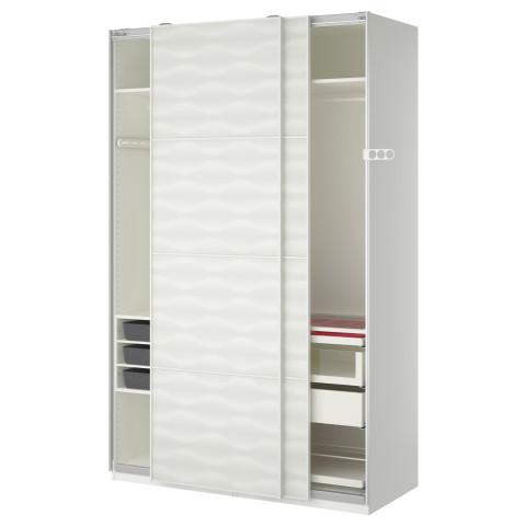 Гардероб ПАКС белый артикуль № 490.295.06 в наличии. Онлайн сайт IKEA Беларусь. Недорогая доставка и соборка.