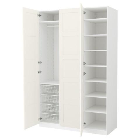 Гардероб ПАКС белый артикуль № 491.273.09 в наличии. Интернет каталог IKEA РБ. Недорогая доставка и соборка.