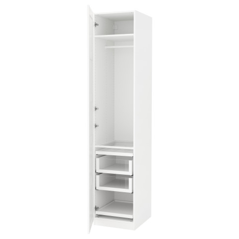 Гардероб ПАКС белый артикуль № 591.276.67 в наличии. Online каталог IKEA Беларусь. Недорогая доставка и монтаж.