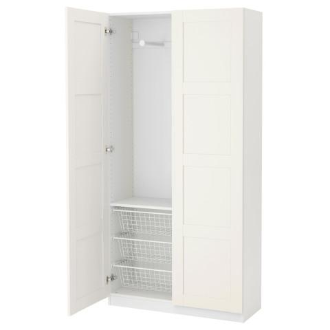 Гардероб ПАКС белый артикуль № 691.277.04 в наличии. Интернет каталог IKEA РБ. Быстрая доставка и соборка.