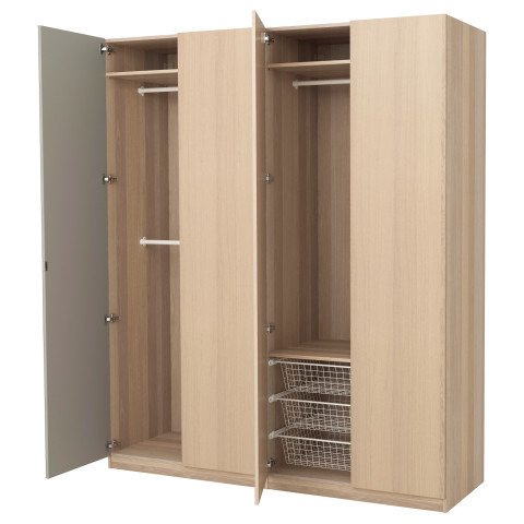 Гардероб ПАКС артикуль № 791.273.41 в наличии. Online магазин IKEA Минск. Недорогая доставка и соборка.