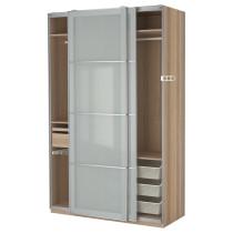 Гардероб ПАКС артикуль № 890.295.09 в наличии. Интернет каталог IKEA РБ. Быстрая доставка и монтаж.