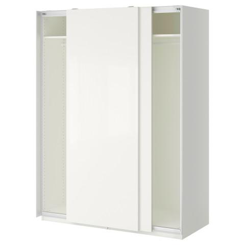 Гардероб ПАКС белый артикуль № 890.313.57 в наличии. Online магазин IKEA Беларусь. Быстрая доставка и установка.