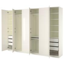 Гардероб ПАКС белый артикуль № 990.293.92 в наличии. Online каталог IKEA Минск. Быстрая доставка и монтаж.