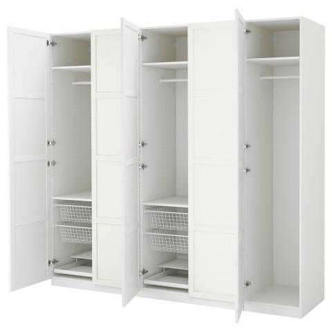 Гардероб ПАКС белый артикуль № 991.279.67 в наличии. Онлайн каталог IKEA Минск. Недорогая доставка и соборка.