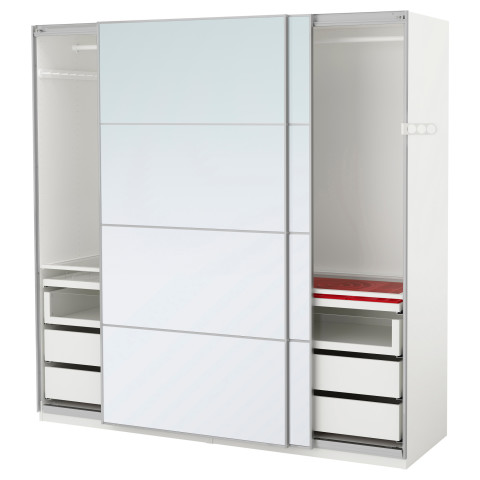 Гардероб ПАКС белый артикуль № 991.281.94 в наличии. Онлайн каталог IKEA РБ. Недорогая доставка и соборка.