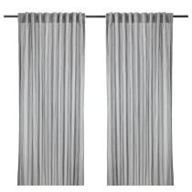 Гардины, 1 пара ГУЛЬСПОРРЕ серый артикуль № 902.688.29 в наличии. Онлайн каталог IKEA РБ. Недорогая доставка и монтаж.