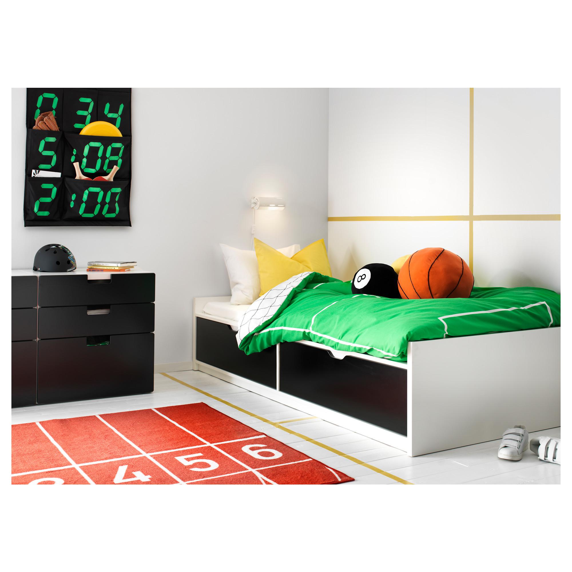 Кровать флакса икеа фото в интерьере