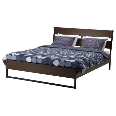 Каркас кровати ТРИСИЛ темно-коричневый артикуль № 790.194.93 в наличии. Интернет сайт IKEA Республика Беларусь. Недорогая доставка и установка.