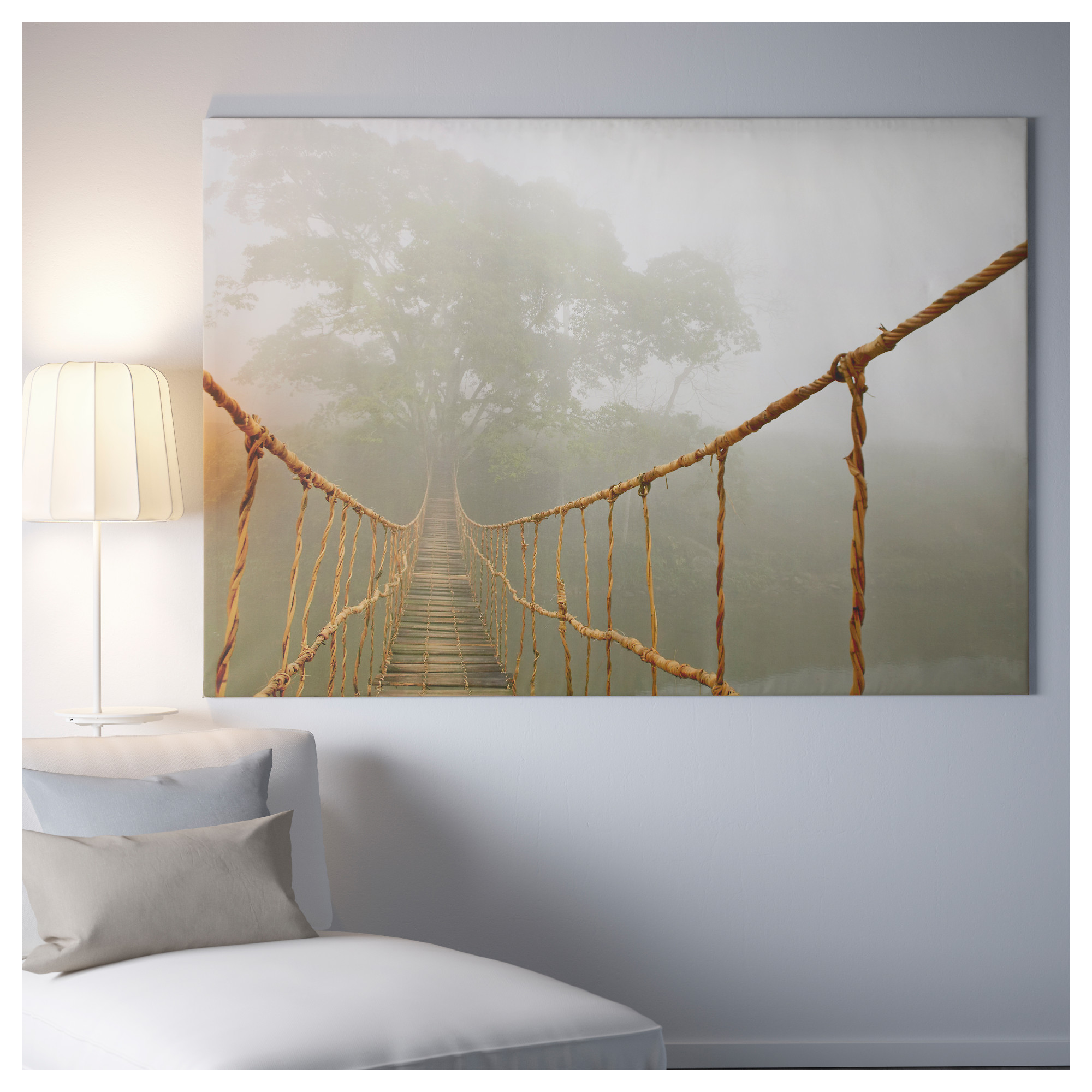 постер подвесной канатный мост хофф того, чтобы