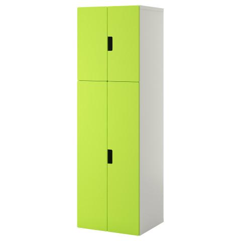 Комбинация для хранения с дверцами СТУВА зеленый артикуль № 890.178.13 в наличии. Онлайн магазин ИКЕА РБ. Быстрая доставка и установка.