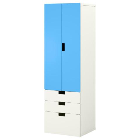 Комбинация для хранения с дверцами, ящиками СТУВА белый артикуль № 390.164.82 в наличии. Online сайт IKEA Минск. Быстрая доставка и монтаж.