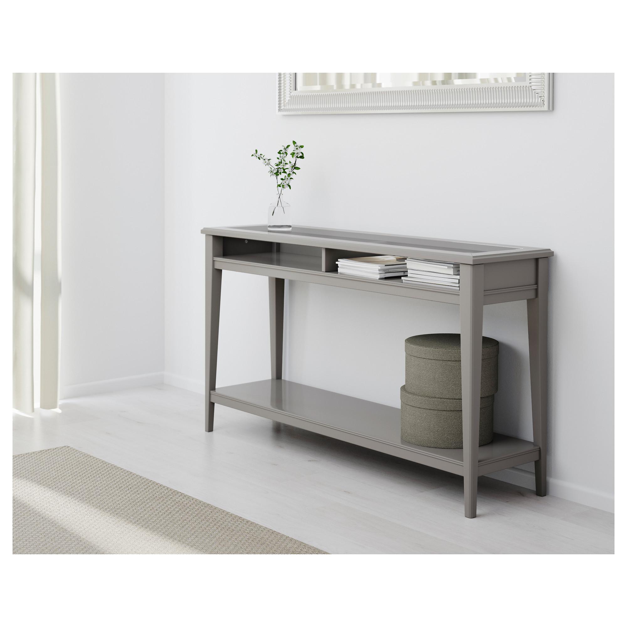 Консольный стол лиаторп в интерьере фото