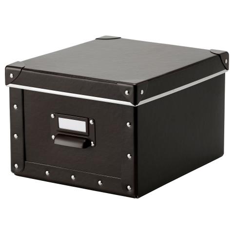 Коробка с крышкой ФЬЕЛЛА коричневый артикуль № 102.919.99 в наличии. Интернет каталог IKEA Минск. Недорогая доставка и соборка.