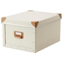 Коробка с крышкой ФЬЕЛЛА белый с оттенком артикуль № 802.699.52 в наличии. Интернет сайт ИКЕА РБ. Быстрая доставка и установка.