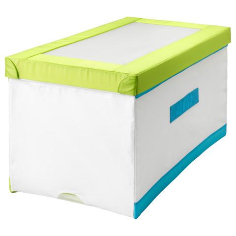 Коробка с крышкой КУСИНЕР бирюзовый артикуль № 801.912.89 в наличии. Интернет сайт IKEA РБ. Недорогая доставка и монтаж.