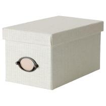 Коробка с крышкой КВАРНВИК белый артикуль № 102.566.94 в наличии. Онлайн сайт IKEA РБ. Недорогая доставка и установка.