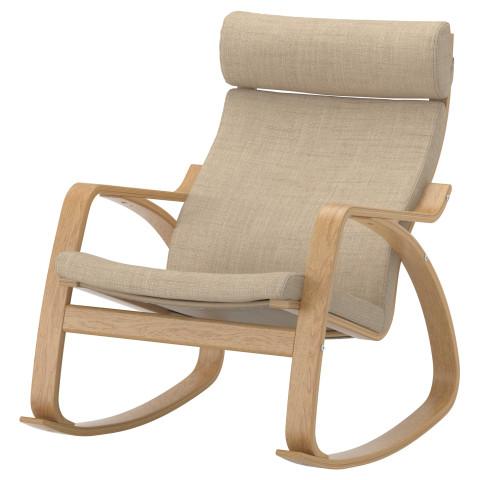 Кресло-качалка ПОЭНГ бежевый артикуль № 890.108.16 в наличии. Online магазин IKEA РБ. Недорогая доставка и установка.