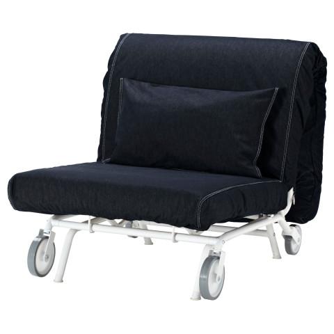 Кресло-кровать ИКЕА/ПС ХОВЕТ темно-синий артикуль № 798.744.28 в наличии. Online сайт ИКЕА РБ. Быстрая доставка и соборка.
