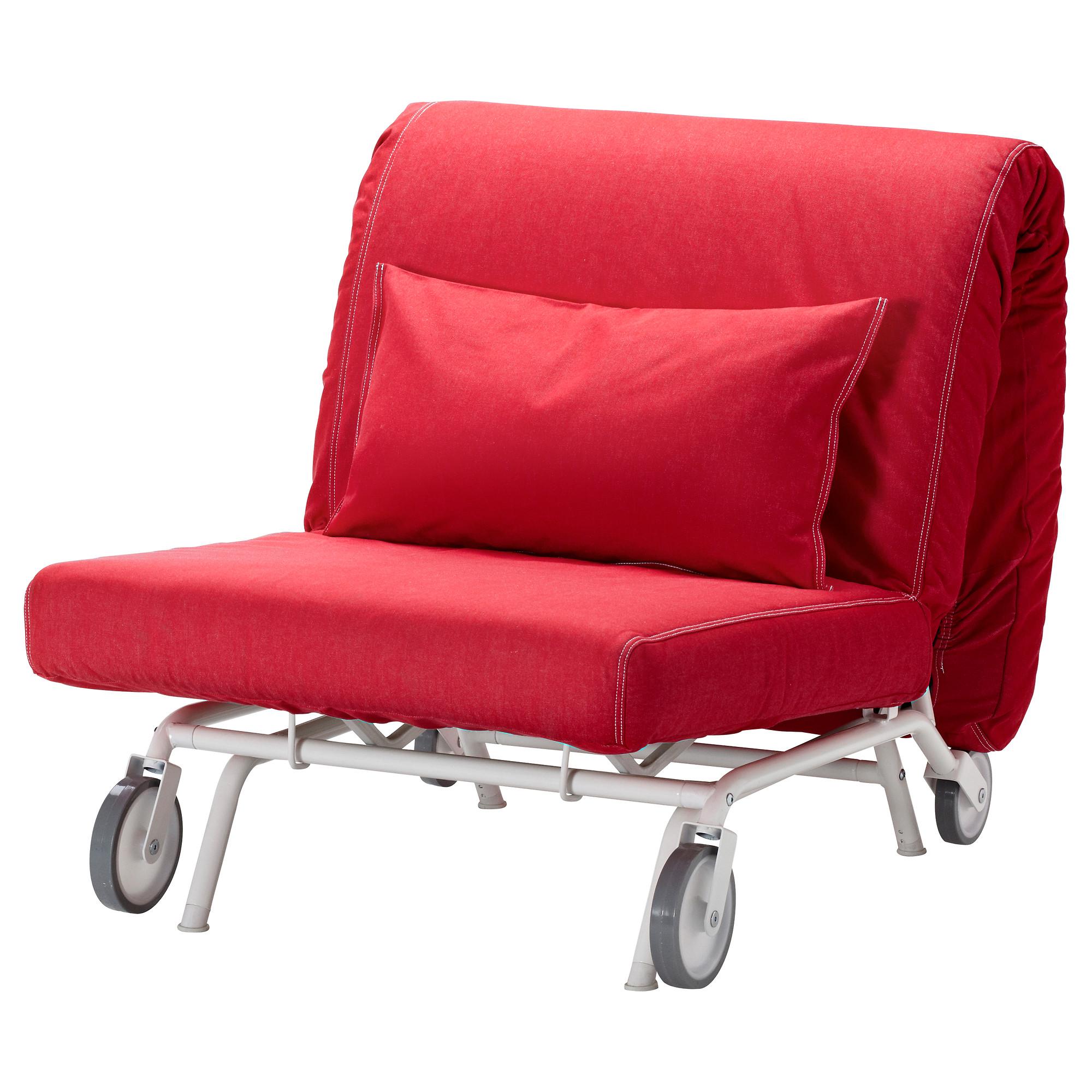 купить кресло кровать икеапс ховет ванста красный в Ikea минск