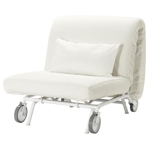 Кресло-кровать ИКЕА/ПС ЛЁВОС белый артикуль № 298.743.84 в наличии. Онлайн магазин IKEA РБ. Недорогая доставка и монтаж.