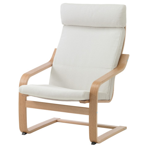 Кресло ПОЭНГ белый артикуль № 090.903.36 в наличии. Интернет магазин ИКЕА РБ. Недорогая доставка и установка.
