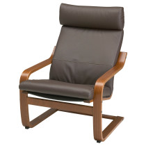 Кресло ПОЭНГ темно-коричневый артикуль № 498.291.21 в наличии. Online магазин IKEA Беларусь. Быстрая доставка и соборка.